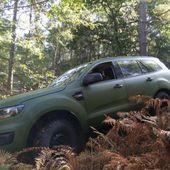 Les P4 seront remplacés par des véhicules 4×4 Ford Everest militarisés par Renault Trucks Defense