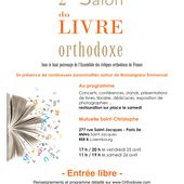 Le Salon du livre orthodoxe : 25 et 26 avril 2014 | Orthodoxie.com