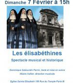 Spectacle musical : Les élisabéthines