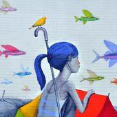 Seth : place au Street Art Onirique