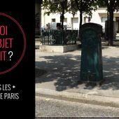 A quoi servaient les boîtes à sable que l'on trouve encore à Paris ? | Paris ZigZag | Insolite & Secret