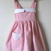 DIY : une robe tablier vintage pour petite fille | tutoriels de couture | Blog de Petit Citron