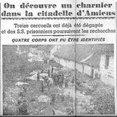 Résistants fusillés à la citadelle d'Amiens - Picardie 1939 - 1945