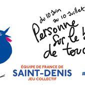 L'équipe de France de Saint-Denis de jeu collectif