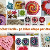 Crochet Facile - 30 idées étape par étape | PNPG
