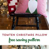 Tomte Christmas Gnome Pillow Pattern - Page 2 of 2 - The Polka Dot Chair