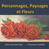 personnages paysages et fleurs jackdidier