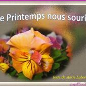 le printemps nous sourit jackdidier