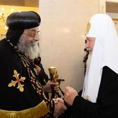 His Holiness Patriarch Kirill of Moscow and all Russia meets with Patriarch o the Coptic Church...
