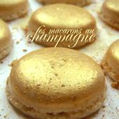 Macarons or au champagne > Recette