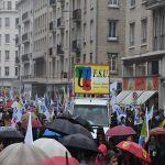 Résistances Caen - Manifestation de la fonction publique le 10 octobre 2017