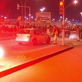 Rungis bloqué par près d'un millier de manifestants contre la loi travail
