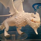 'Dragons: Race to the Edge': Possible Snow Wraith Design + Doug Sloan Answers Fan Questions
