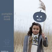 "Sania Pell At Home - The Blog "" Blog Archive "" halloween how-to: pumpkin party mask"