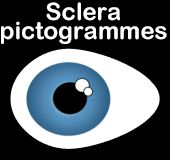 Sclera pictogrammes