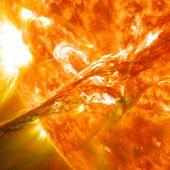 En 744 et 993, la Terre a été attaquée par deux énormes éruptions solaires