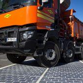 In Francia si sperimenta la strada fotovoltaica - Solare Business