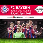 FC Bayern Youth Cup | 4. April 2015 | sport-oesterreich.at