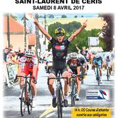 Samedi 8/04 : 1er Tour cycliste de la Charente Limousine