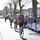 Théo Vimpére s'impose sur le 1er Tour de la Charente Limousine.