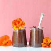 Crèmes dessert au chocolat façon Danette (vegan, sans gluten) - Sweet & Sour | Healthy & Happy Living