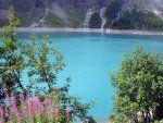 Lac et barrage de Tseuzier