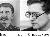 Chostakovitch et Staline