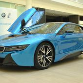 BMW i8 is UK Car of the Year