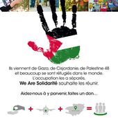 "La Palestine à Paris, une initiative ""We Are Solidarité"" - ThePrairie.fr"
