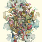 Unsettling Illustrations of Tangled Flora and Fauna Beings by Alex Kuno