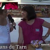 Le Safran Du Terroir Tarnais Eve et Yves BOISMARTEL - Vidéo TvLocale Côté Jardin Côté Coeur
