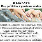 U Levante en images : 30 ans d'actions