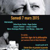 Billetterie : Colloque : Actualité de la pensée de Daniel Béresniak