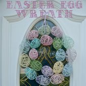 Easter Egg Wreath - Wine & Glue