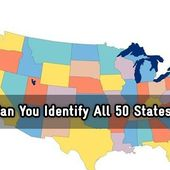 Can You Identify All 50 States?