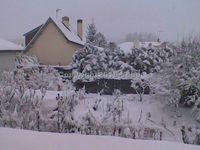 Doullens sous 18 cm de neige le 19 Décembre 2010 au matin.