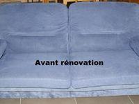 Canapé entièrement revoné