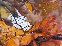 Acryliques sur papier - 65 x 50 cm - 2008/2009