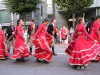 Rencontres de Folklore Internationales-International Folklore Festival-Fribourg in August