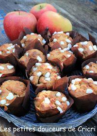 Muffins aux pommes aux notes québecoises