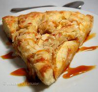 Gâteau aux pommes - caramel