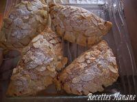 Chaussons poires-crème d'amandes