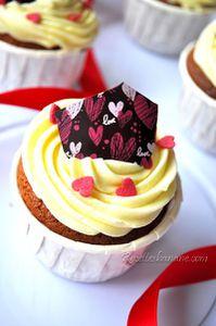 Cupcakes à la crème mousseline