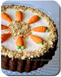 Carrot cake (gâteau aux carottes)