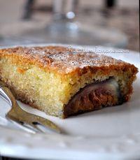 Gâteau fondant aux amandes et aux figues