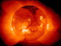 le soleil descendra sur les créatures,le jour de la resurection; à la mesure d'un mile