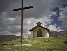 Chapelle St Anne Queyras. Alpes. Photo de Laurent
