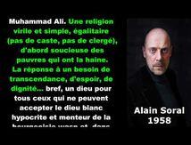 "Alain Soral  - Islam : ""religion virile, simple et égalitaire"""