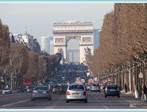 un petit tour sur les Champs Elysées