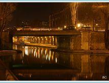 Canal st Martin à Paris